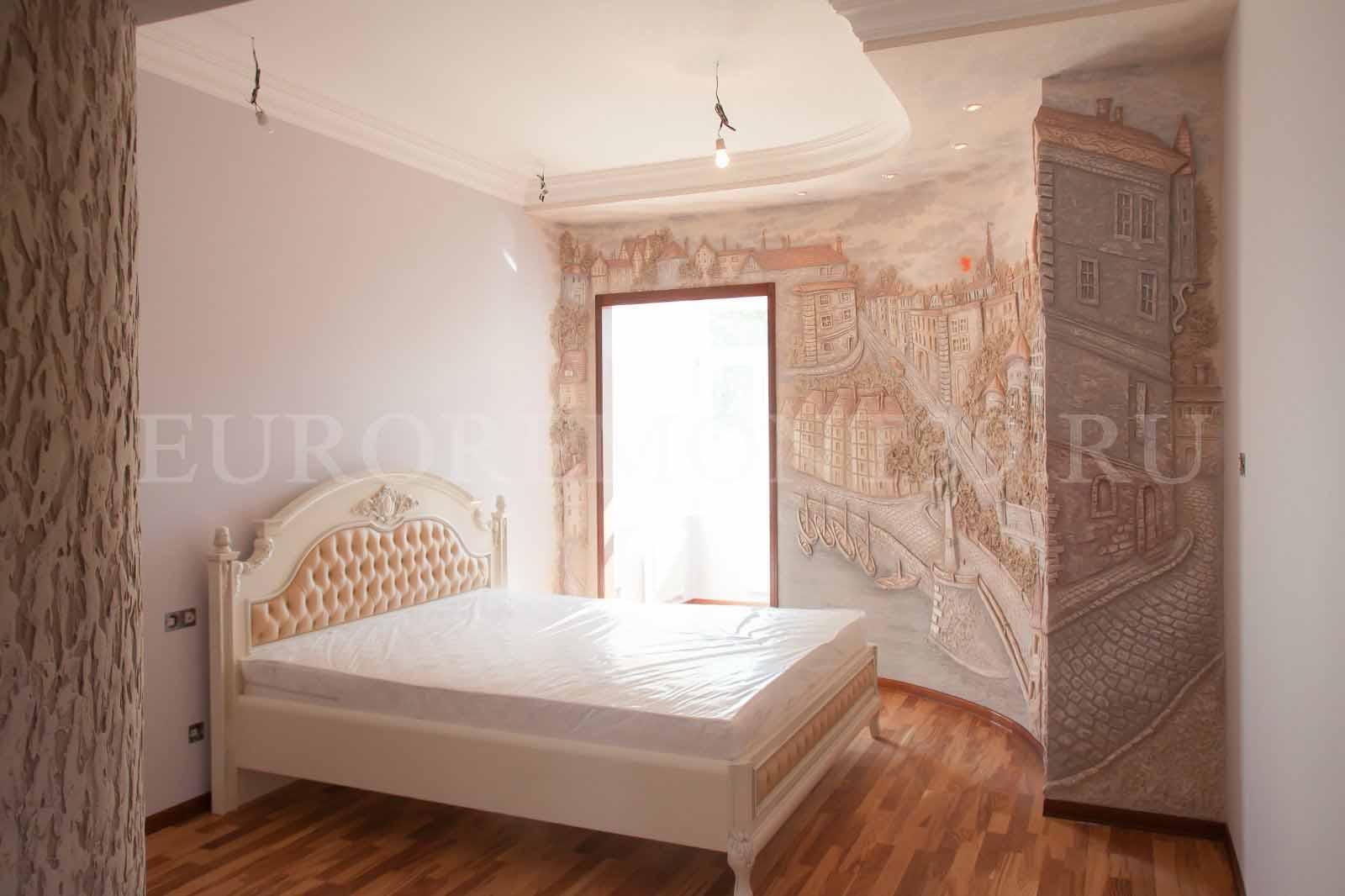 Дизайн проект эпатажной квартиры на Арбате