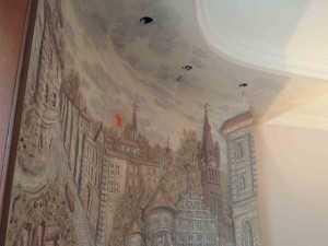 Фреска на стены в Калининграде