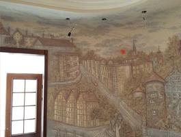 Fresken und Stuckleisten